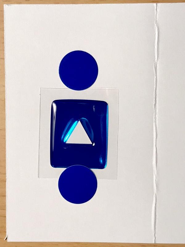 グロッシーアートのブルーメッキをハザードスイッチに貼りました
