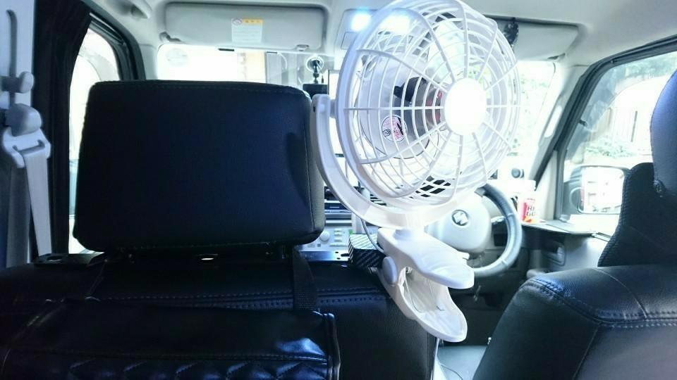 サーキュレーターから扇風機に変更