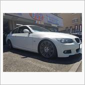 BMW:E92クーペにアドバンスポーツV105、タイヤ交換です♪FIT都筑店です(*'▽')