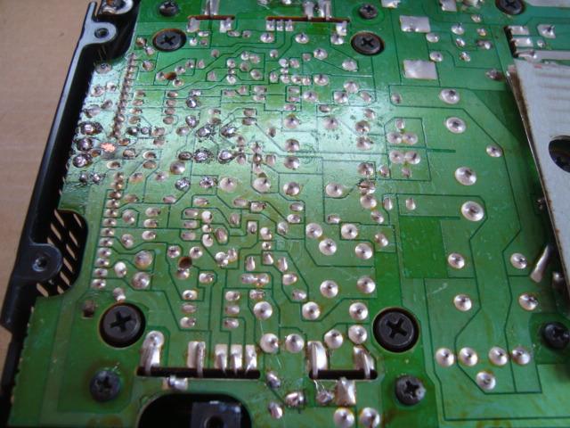 ☆ アルパイン アンプ 3518 再び修理