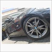 BMW:E90(3シリーズ)に1シリーズ純正をお取り付け!