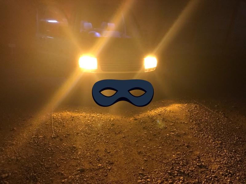 ヘッドライトイエローバルブ化