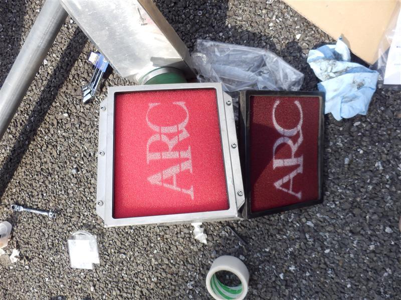 エアクリ交換(ARC)