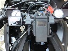 YZF-R25 電装品取付のカスタム手順1