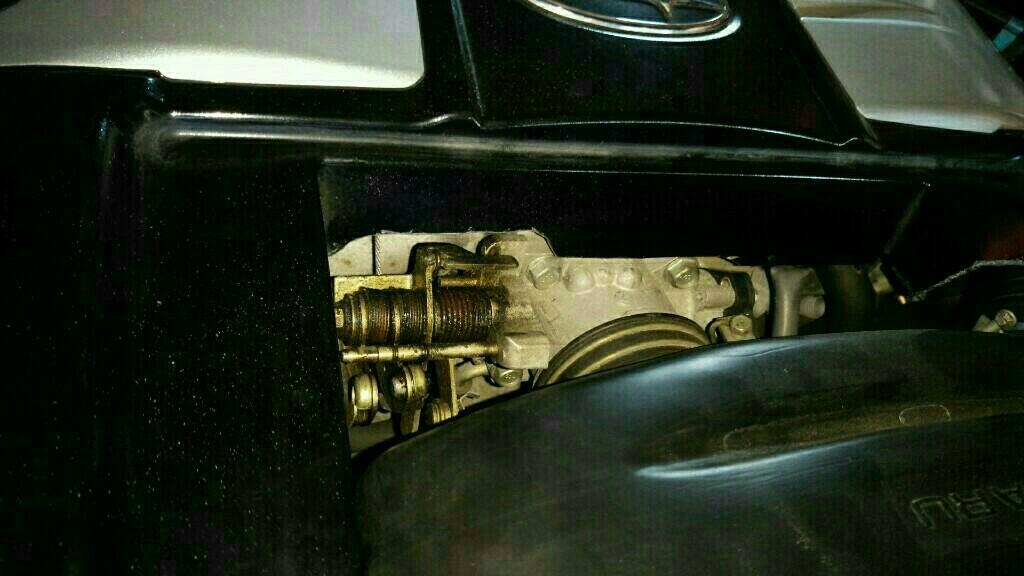 エンジンカバー装着!? その2
