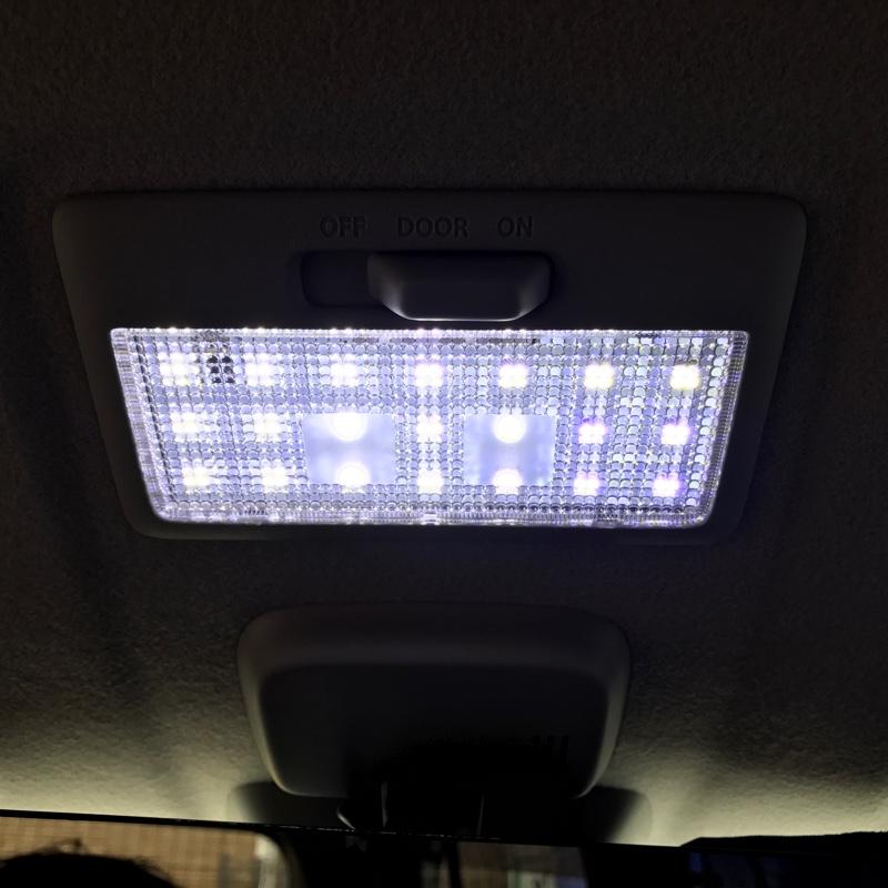 サンピエ(Sunpie) スズキLED ルームランプ セット 室内灯 16段階調光式  リモコン付き