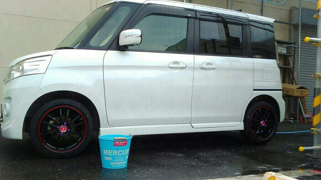 洗車(*´ω`*)♪
