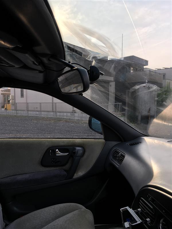ドライブレコーダー DRY-WiFiV1c 取付