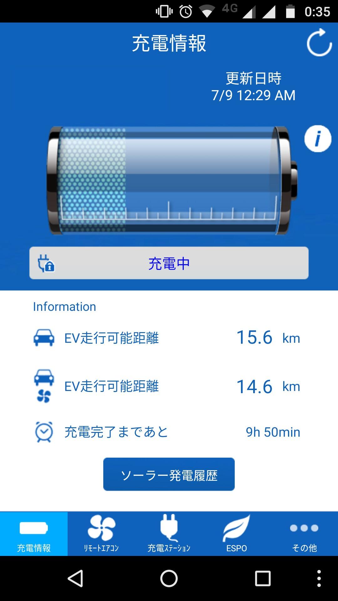 充電テスト(100V/5A) その6