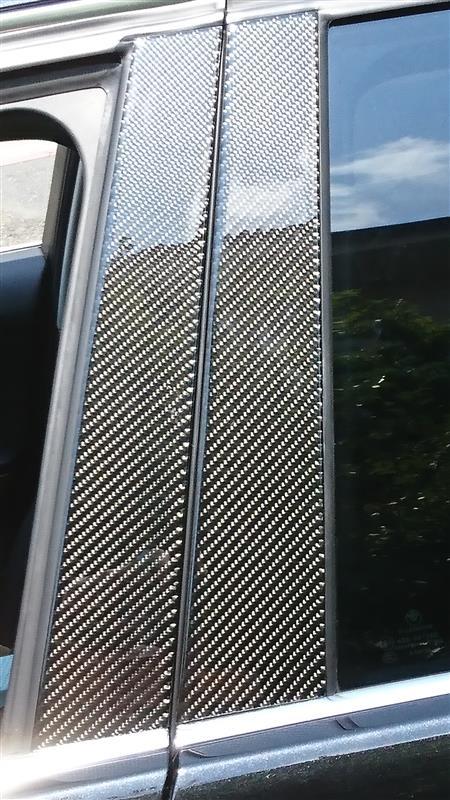 リアルカーボンBピラーパネル