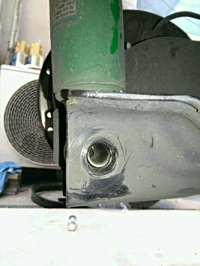 テインスプリング150mm交換