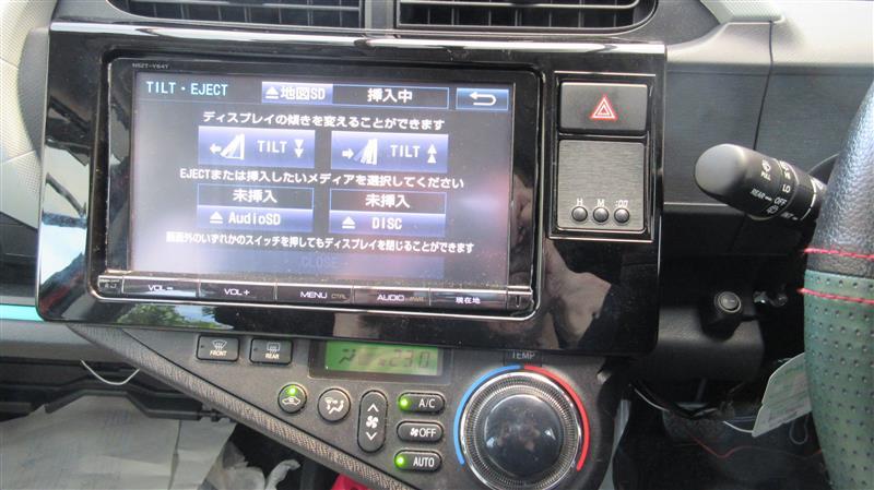 トヨタ純正T-Connectナビ 9インチモデル
