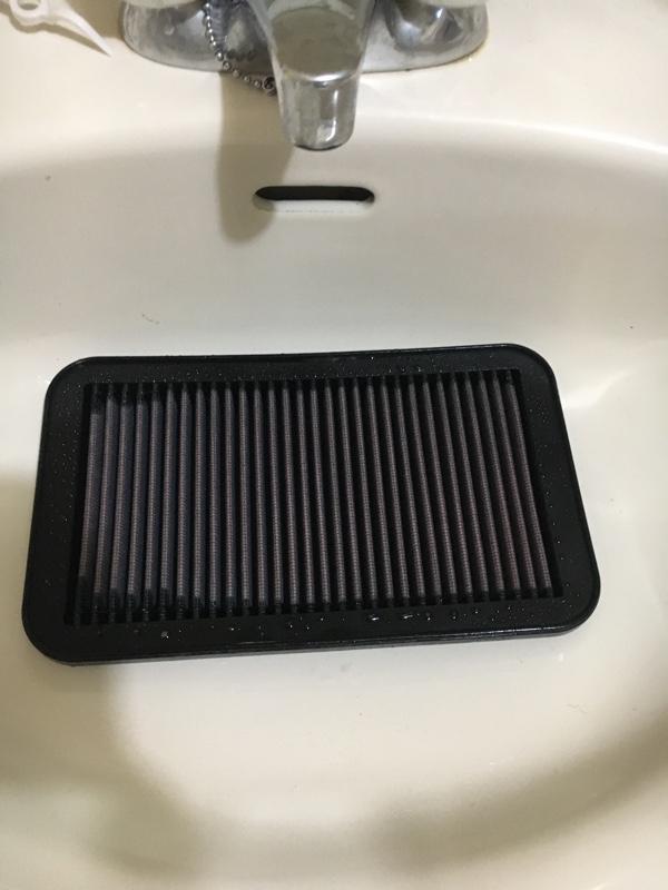 K&Nフィルター洗浄