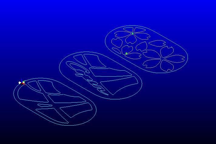 画像から 数値化<br /> <br /> デザインは 何となく CAD 作業<br /> <br /> 道とコペンと桜オープン イメージです 笑<br /> <br /> 山道が 良かったのかな・・・<br /> <br />