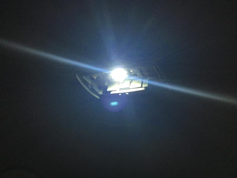 室内灯をLEDに 2017-07-09