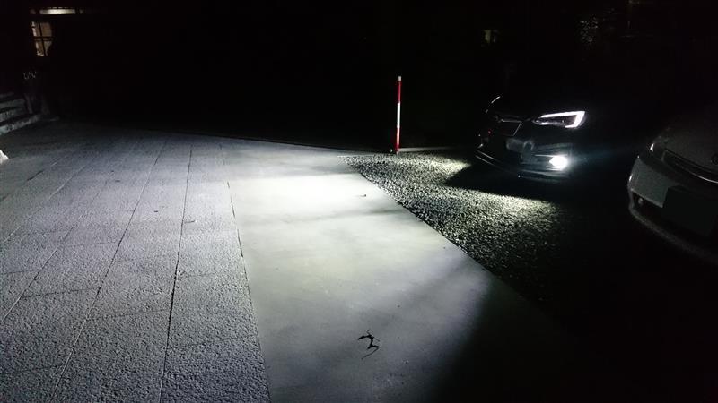 LEDフォグ取付