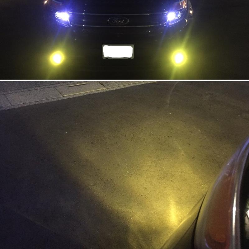 フォグランプ CREE LED 3000K
