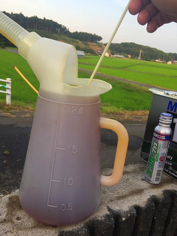 16回目のENG/OIL交換