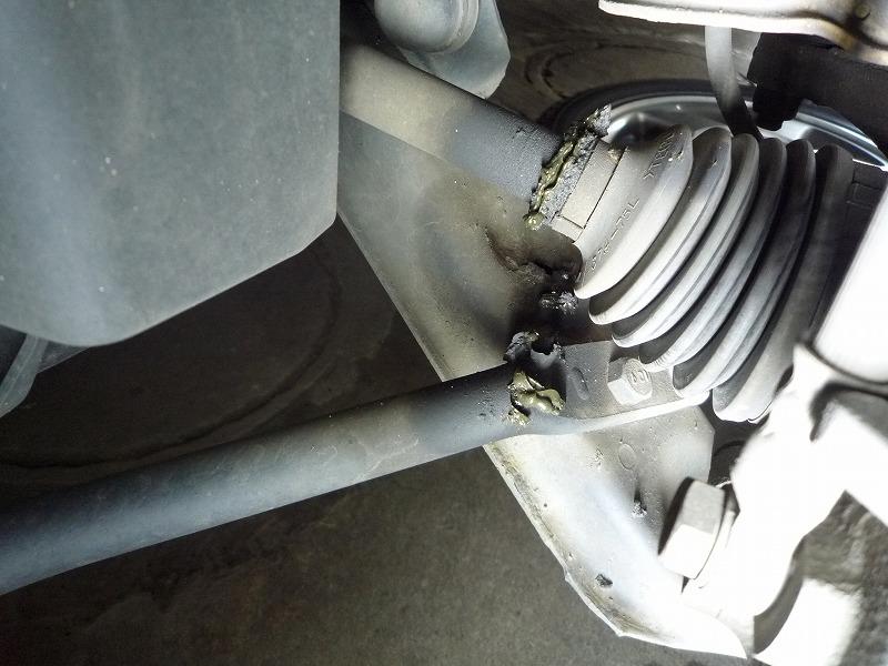 ドライブシャフト 掃除とグリースアップ1