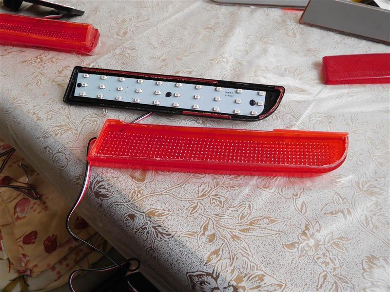 リアリフレクター LED化
