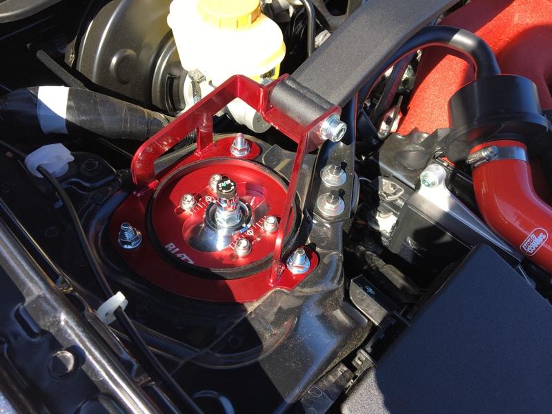 車高調導入にて(BLITZ ZZ-R)アライメント調整