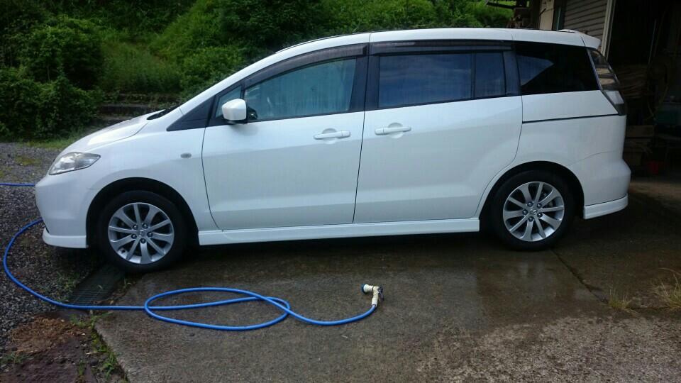 今年、3回目の洗車&ワックス