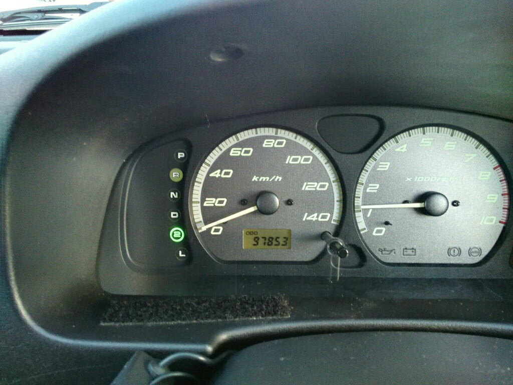 メーター交換 4153kmショート