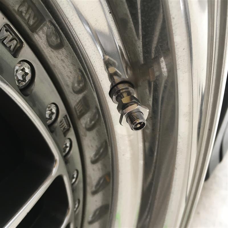 タイヤの薄さが気になるから、TPMSを付けてみたぞぉ