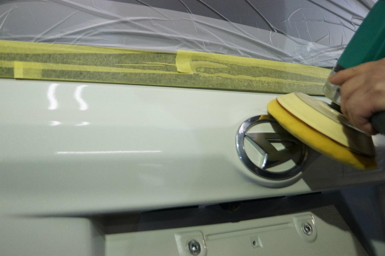 洗車などを終え工程を踏み 作業を進めていきます^^
