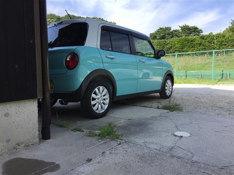 初めての洗車