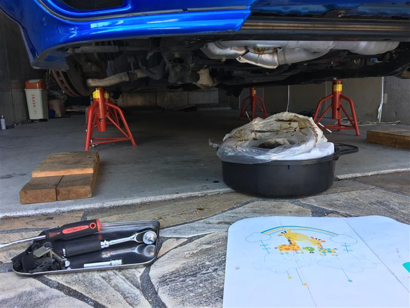 異音対策:スタビリンク,車高調ロアブラケット 締め付けトルクチェック&増し締め,減衰変更
