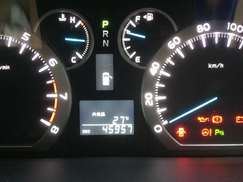 初 バッテリー交換(45,957km)
