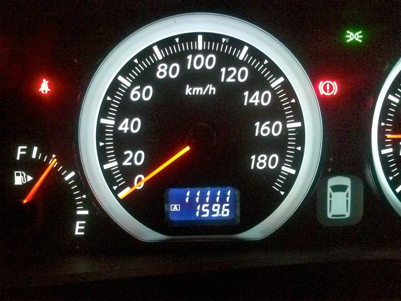 キリ番 まとめ 10万km~(記録 その①)