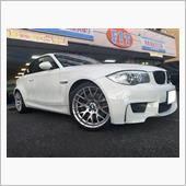 BMW:E82 M-CoupeにTE37ウルトラ20インチをお取り付け!FIT都筑店です(*'▽')