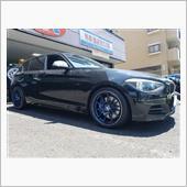 BMW:F20にアドバンRZⅡのお取り付け!FIT都筑店です(*'▽')