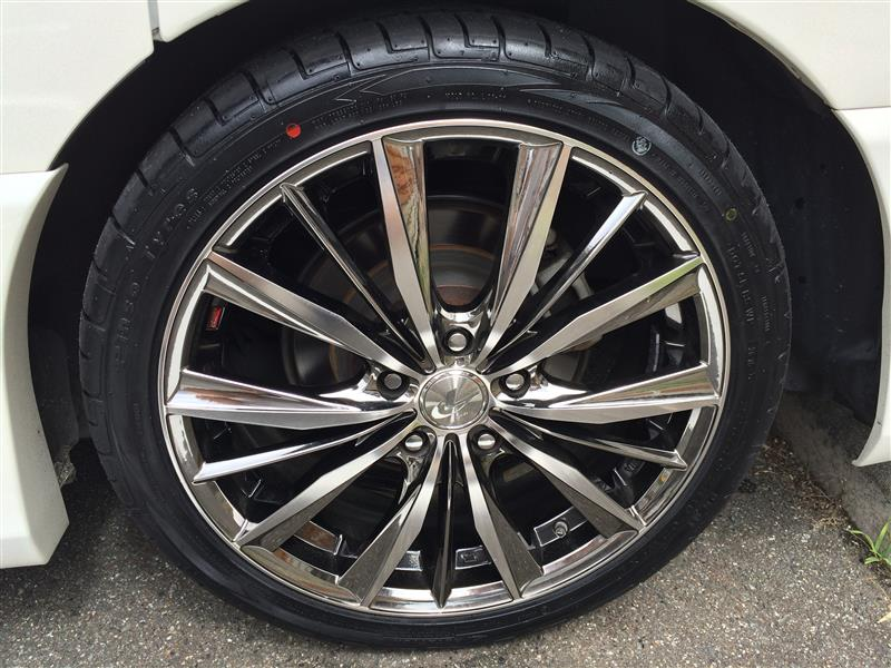 タイヤ交換 PINSO PS91