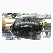 NSX NA1 キャリパー取り付け