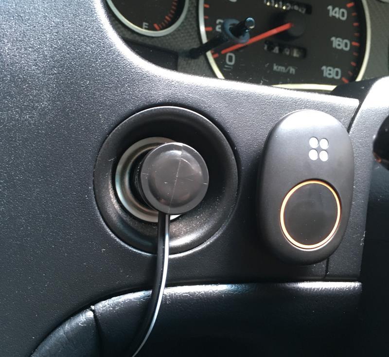 つながるボタン設置