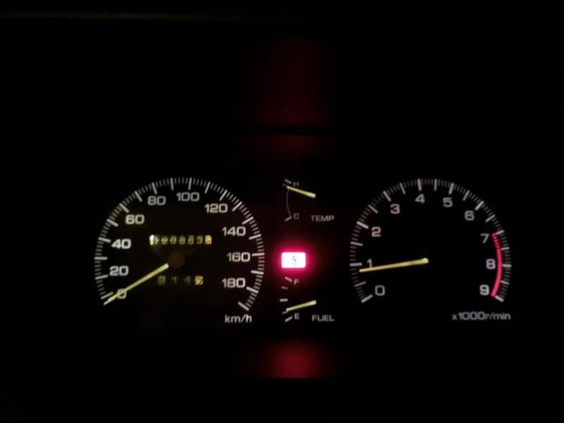 高速走行中のトラブル