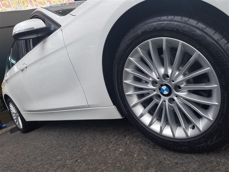 BMW:3シリーズ(F30)にパラレルスポーク414をお取り付け! FIT都筑店です(*'▽')
