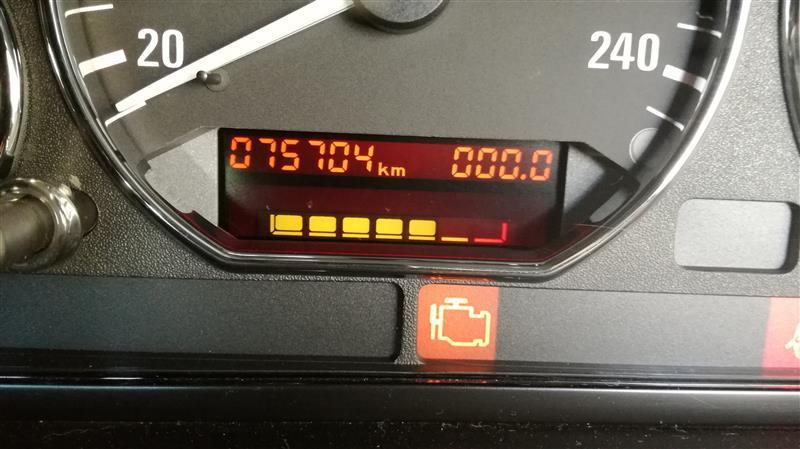 Z3 オイルインジケーターリセット&デイズオイル交換