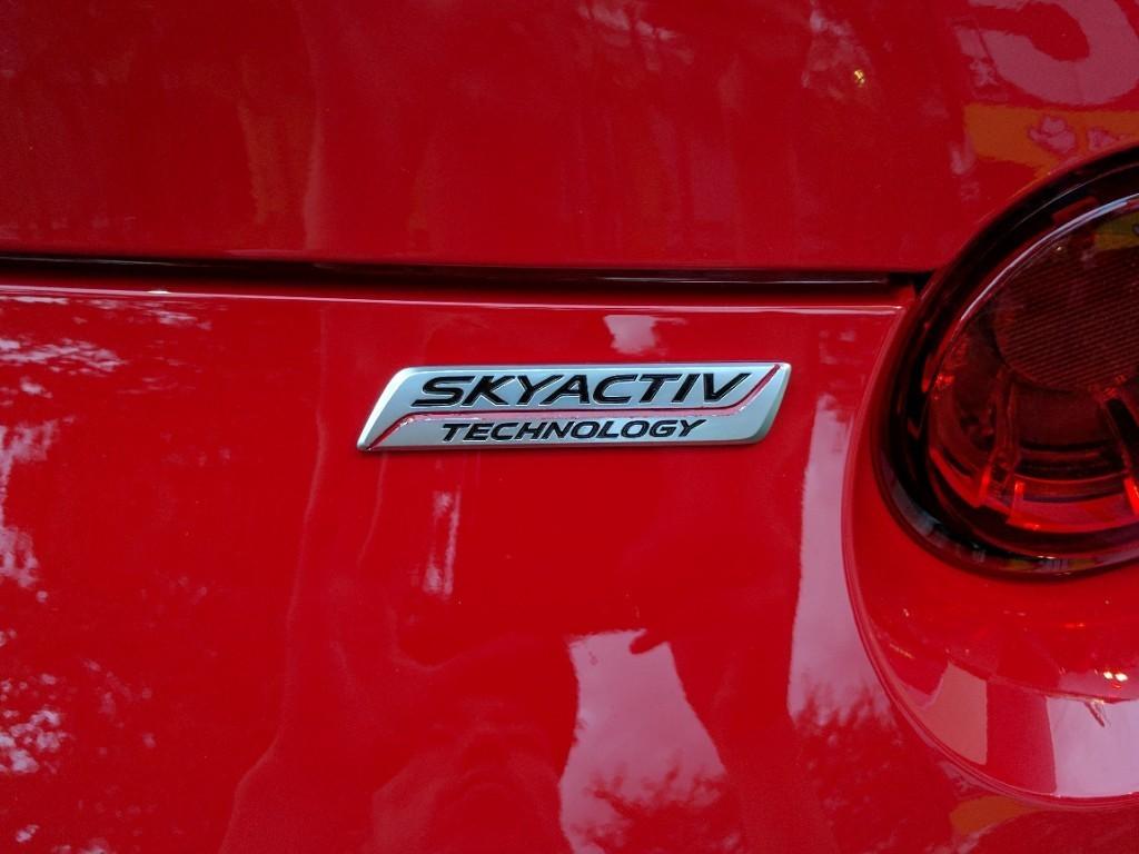 SKYACTIVセンターライン塗装