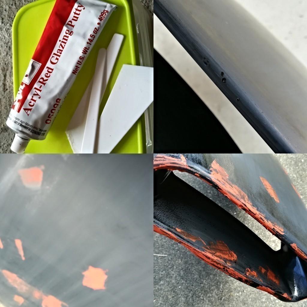 アピオコブラエアーインテークの塗装&取り付け
