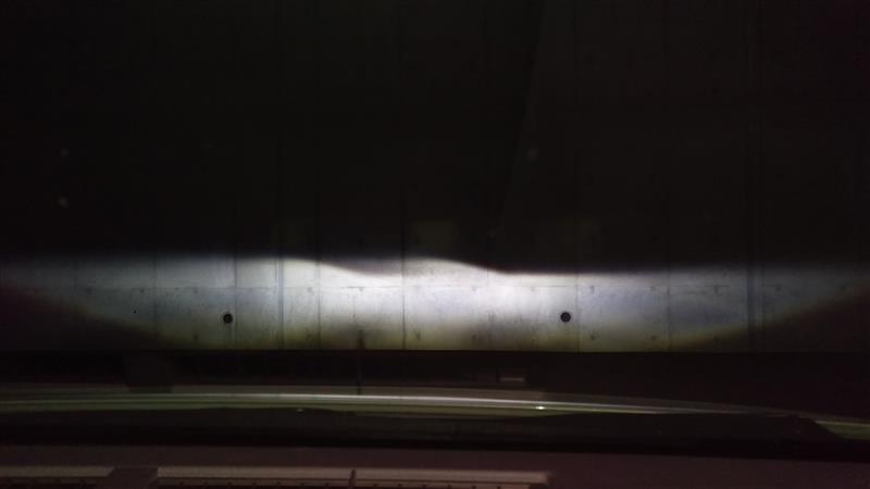 ロービーム・ハイビーム LED化