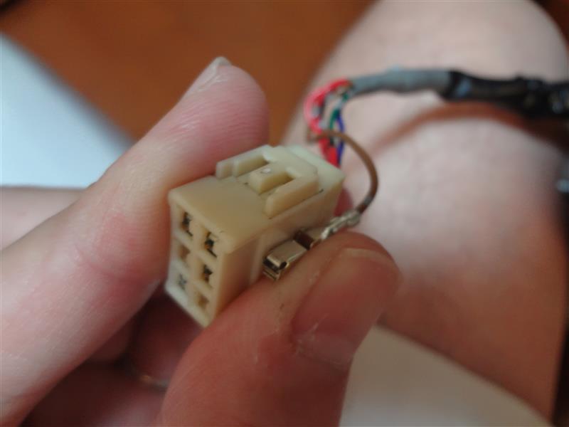 ドアミラー電動格納ユニット交換その1