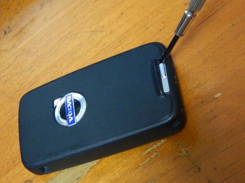 リモコンキーの電池交換