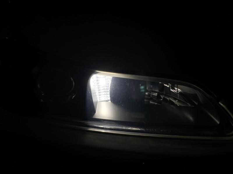 車幅灯をLED化