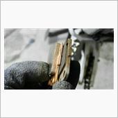 娘のバイクのブレーキパッド交換