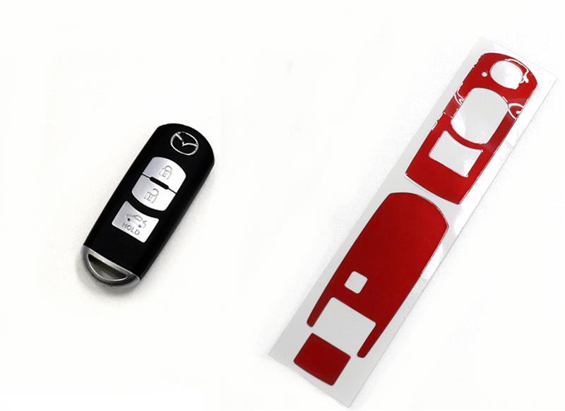 ペインターシートハイパー スマートキー専用カット施工方法