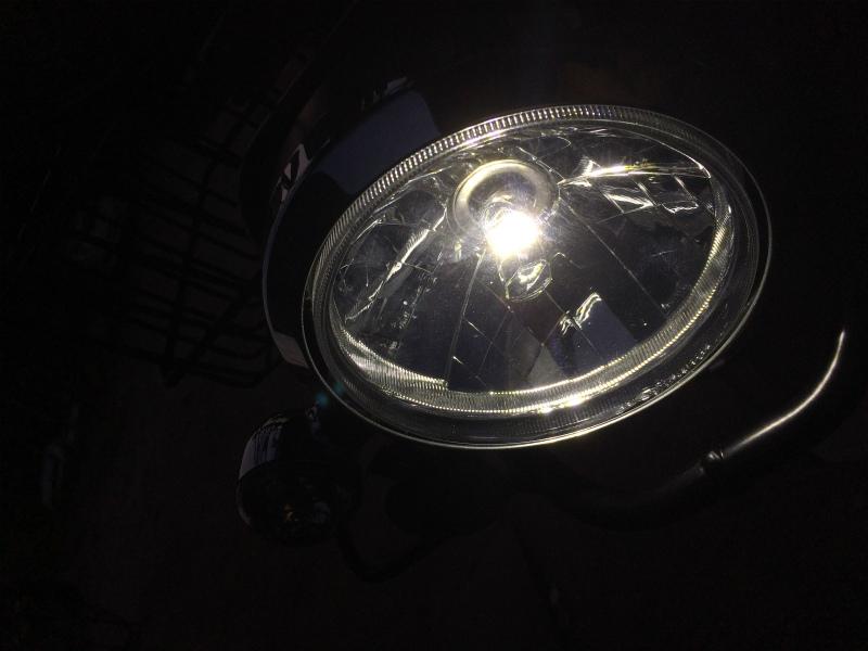 LEDヘッドライト交換☆②